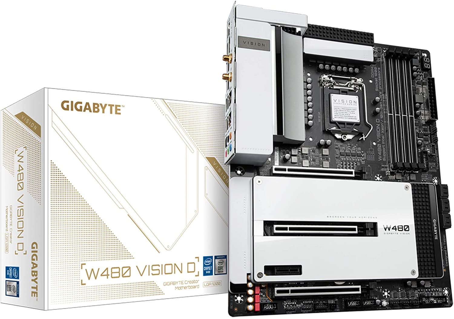 Gigabyte Z590I VISION D LGA 1200 Mini-ITX Motherboard Review